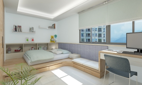 南港-陳公館3D bedroom-01