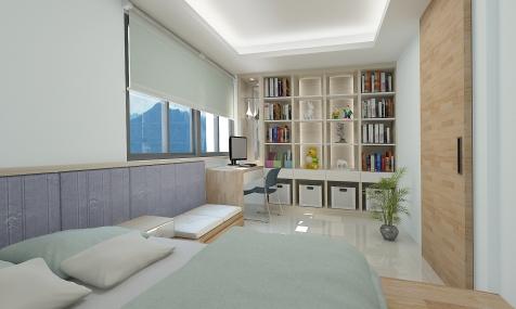 南港-陳公館3D bedroom-02