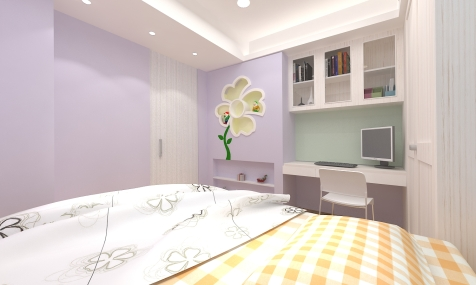 莊敬路-陳公館3D 女孩房-1