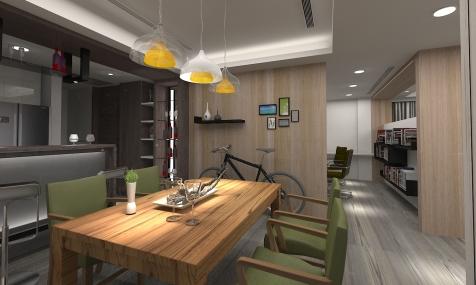 莊敬路-陳公館3D 餐廳-1