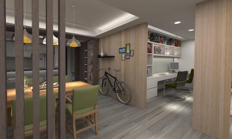 莊敬路-陳公館3D 餐廳-2